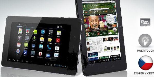 7palcový tablet za skvělou cenu: zvládá HD videa, Wi-Fi, možnost 3G modemu