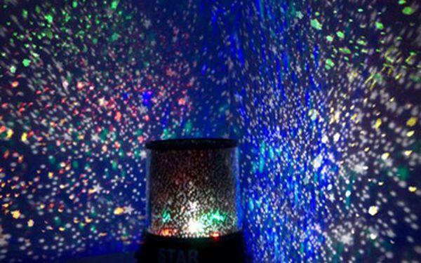 Projektor noční oblohy Star Master: nádherné hvězdné nebe u vás doma