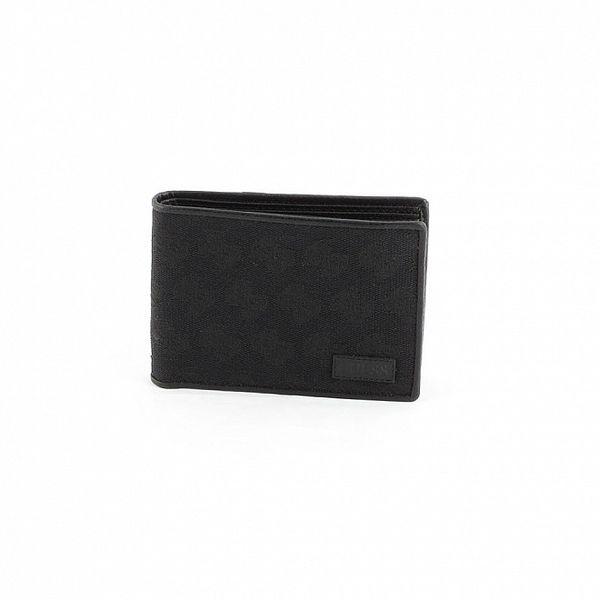 Pánská černá peněženka Guess