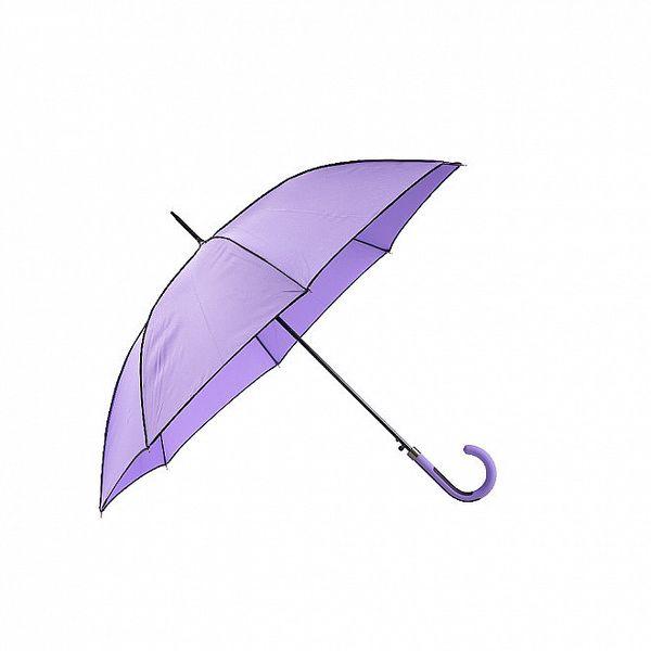 Dámský holový deštník Ferré Milano ve fialové barvě