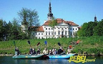 PLAVBA NA RAFTU s instruktorem od oblíbené CK Peřej tours za bezkonkurenčních 139 Kč!