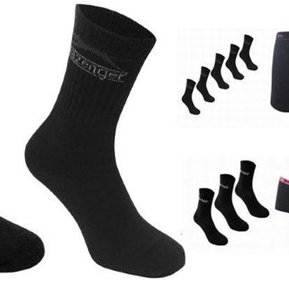 Pánský nebo dámský set oblečení! Spodní prádlo Lonsdale, ponožky Hi-Tec nebo Slazenger a tričko LaGear nebo Slazenger s úžasnou slevou 40 %!!! Skvělý tip na vánoční dárek!