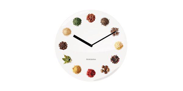Kuchyňské hodiny KITCHEN TIMES, s originálním designem. Každá hodina symbolizuje ingredienci.
