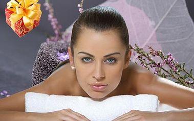 80 minutová relaxační masáž zad, nohou a rukou orientálním nebo rakytníkovým olejem či levandulovým krémem.
