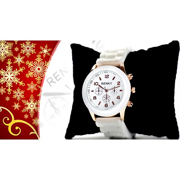 Elegantné dámske hodinky, krásny darček pod každý stromček.