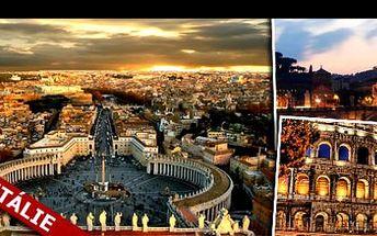 MAGICKÁ DOVOLENÁ V ŘÍMĚ se slevou 52 %: 4 dny a 3 noci pro 2 osoby, ubytování v apartmánech blízko centra, transfer z letiště při příjezdu ZDARMA, láhev italského vína a 2x kniha o Římě za bezkonkurenčních 3 592 Kč.