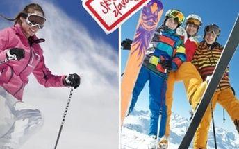 Požičajte si kompletnú lyžiarsku či snowboardovú výbavu v ski centre Jasná – Biela púť na celý deň iba za 7 €!