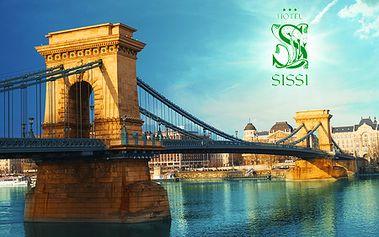 3 alebo 4-dňový pobyt s raňajkami pre 2 osoby v hoteli Sissi*** v BUDAPEŠTI! Romantické ubytovanie v blízkosti centra a nádherných pamiatok! V cene aj vstup do kúpeľov!