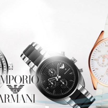 Exkluzivní nabídka! Módní značkové hodinky Emporio Armani již od 6290 Kč! Dopřejte si luxus se slevou až 63%! Perfektní jako dárek k Vánocům!
