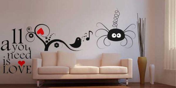 Samolepky na zeď a svítící samolepky - báječný designový doplněk! Nakupte si zboží v hodnotě 600 Kč a zaplaťe jen 290 Kč! Každá zeď si zaslouží být krásná! Sleva 52% !