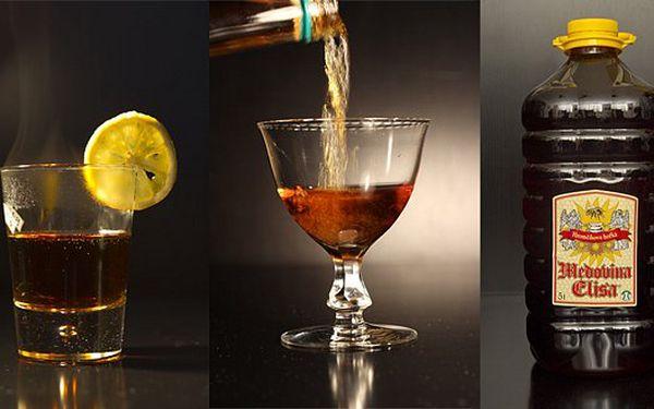 699 Kč za kvalitní Hromčíkovu medovinu Elisu - příchuť klasická hořká 5 litrů. Nejlíp chutná horká s plátkem citronu.