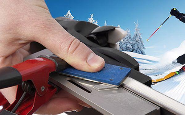 Profesionálny servis lyží a snowboardov