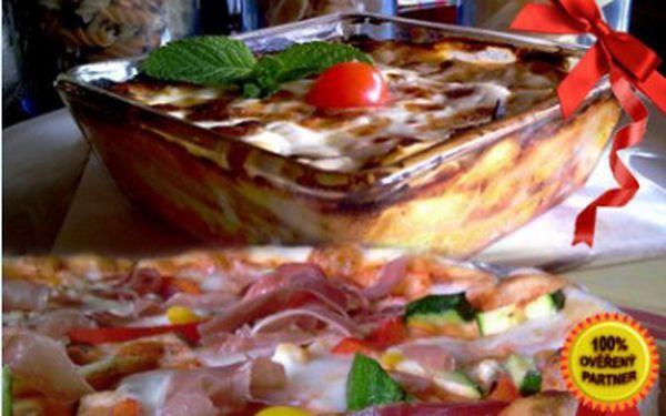 2x pizza NEBO 2x těstoviny do 139 Kč v příjemném prostředí restaurace Pizzeria Cappuccini Ristorante