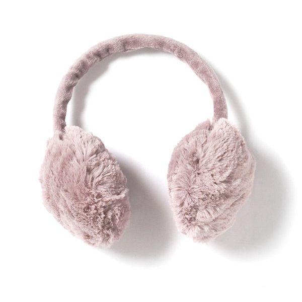 Chrániče uší vyrobené z umělé a hřejivé kožešiny: ideální zimní společník!