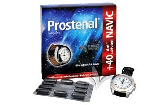 Walmark Prostenal s Perfect Complexem 80 tob. + 40 tob. ZDARMA + pánské hodinky zdarma