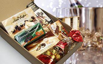 Balíček sladkého potěšení! Pralinky, čokolády Grazioso, Mozartovy koule, čokoládové bonbony!