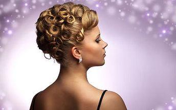 Kadeřnický balíček! Mytí, střih, foukaná a kvalitní kosmetika značky Revlon pro plesovou sezónu 2013!