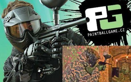 4 hodiny paintballu! V ceně i zbraň s pohonem, maska, 100 ks munice i služby organizátora!