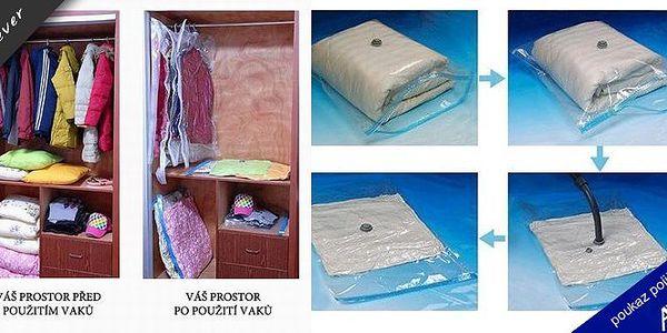 Vakuový pytel VACU BAGS SPACE 60x90. Ušetřete spoustu místa ve Vaší skříni