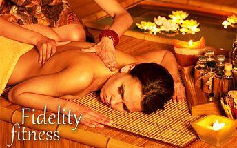 Klasická alebo čokoládová masáž už od 4,70 €! Načerpajte nové sily, užite si relax a odstráňte bolesti chrbta a stuhnutých svalov s 50% zľavou v príjemnom prostredí Fidelity Fitness!