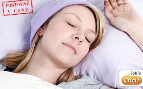 299 Kč za Sleeping Headphones - čelenku s reproduktory pro váš klidný spánek.