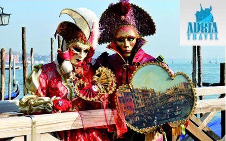 Užite si romantický víkend v meste gondol v období karnevalu! S našou zľavou 37% si môžete užiť romantický víkend v Benátkach práve v období svetoznámého karnevalu od CK Adria Travel!