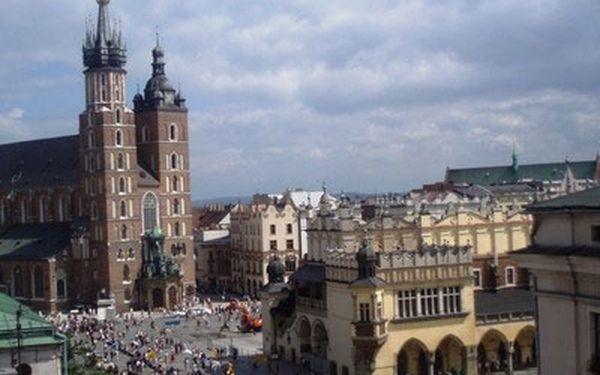 3-denní poznávací zájezd v Krakowě s ubytováním a welness jen za 99 €