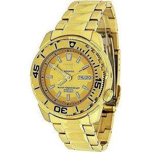 Zlaté Seiko hodinky