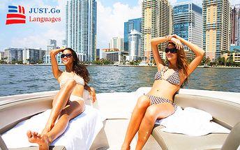 Mesačný jazykový kurz na Miami Beach! Naučte sa anglicky rýchlo a efektívne v našej špecializovanej jazykovej škole JUST.Go - Languages Slovakia! Len teraz zľava až 50%!