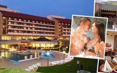 Prožijte luxusní dovolenou obklopeni léčivou silou unikátní JESKYNĚ a TERMÁLNÍ VODY nedaleko BALATONU. Načerpejte energii v Hunguest Hotel Pelion ****superior Tapolca v Maďarsku