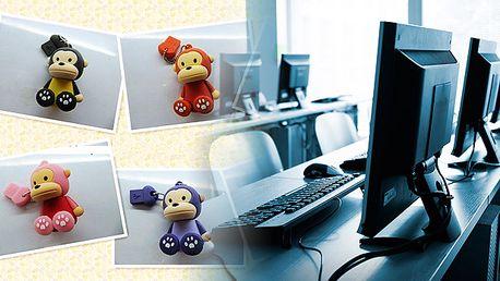Funny 2 GB USB kľúč v tvare roztomilej opičky. Možnosť osobného odberu v Bratislave.