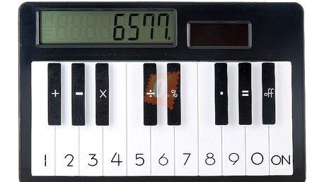 Kalkulačka s motivem piana a solárním napájením a poštovné ZDARMA! - 360