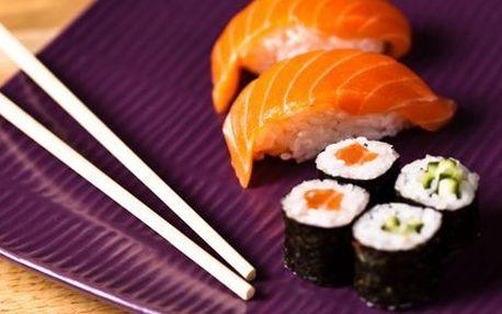 2,5hodinový sushi kurz! Staňte se guru v přípravě sushi a pronikněte do tajů japonské kuchyně!