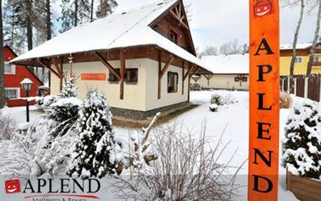 4-dňový pobyt pre 4 osoby v Domčekoch Tatry Holiday*** vo Veľkom Slavkove! V cene raňajky, sauna, fitness a Tatrycard plná zliav! Zimná dovolenka vo Vysokých Tatrách pre celú rodinu!