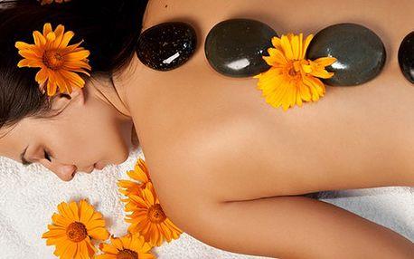 60 minutová masáž lávovými kameny. Zažijte maximální relaxaci a načerpejte novou energii! Skvělý dárek k vánocům!
