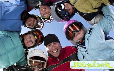 Zimní lyžařský tábor v Harrachově o jarních prázdninách pro děti 4 – 12 let.