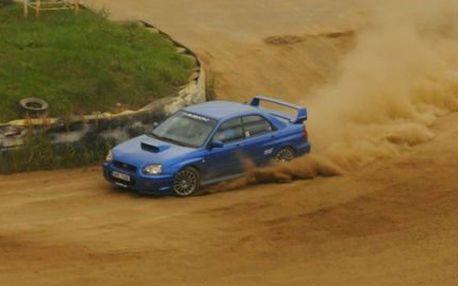 Jízda v Subaru WRX! 6 kol na okruhu! 2 kola s instruktorem a 4 jako řidič! Pojedete na profesionální trati v sedlčanské kotlině!