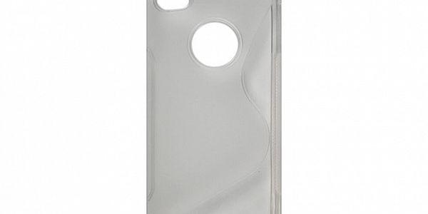 Transparentní silikonové pouzdro na iPhone 4/4S