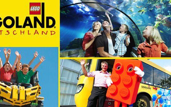 Jestli chcete dětem připravit nezapomenutelný zážitek, zveme vás do německého LEGOlandu, zábavního parku, za vanočních 1390Kč! Naprosto dokonalý dárek pro vaše ratolesti! Doprava autobusem, celodenní vstupné a neomezený vstup na všechny atrakce se službami delegáta!