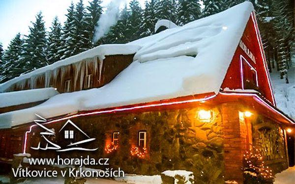 Celoročně kouzelné Krkonoše – 3 nebo 6 dní s polopenzí pro 1 osobu, 5 ski areálů do 5 km, 10% sleva na skipasy