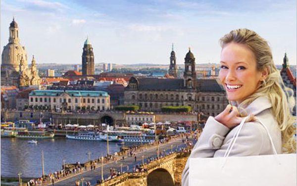 Novoroční nákupy v Drážďanech! Celodenní zájezd za novoročními výprodeji.
