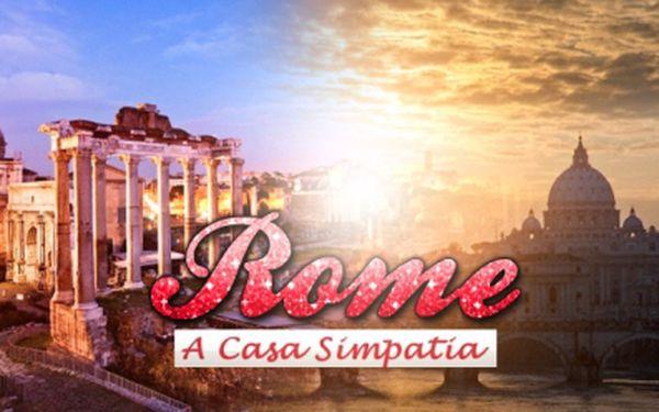 4 DENNÍ POBYT V ŘÍMĚ pro 2 osoby za výjimečnou cenu 3 590 Kč! Ubytování v APARTMÁMU Casa Simpatia, transfer z letiště, LÁHEV ITALSKÉHO VÍNA + 2x kniha o Římě! Antická dovolená plná kultury a zážitků se slevou 52%!