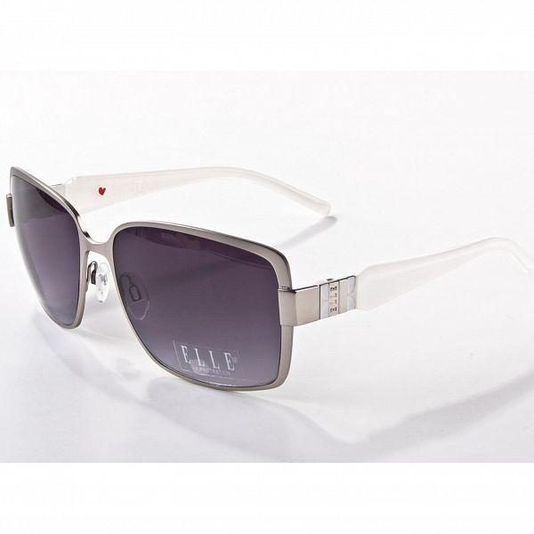 Dámské šedo-bílé sluneční brýle Elle