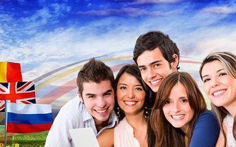 1. ZIMNÝ KURZ nemčiny, ruštiny alebo angličtiny od 7.januára do 17.februára 2013 - 36 lekcií 60 minútových počas 6 týždňov teraz len za 69 €! ZĽAVA 62%!