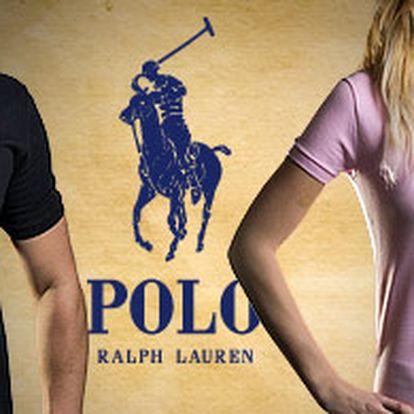 Dámská a pánská trička Ralph Lauren – 100% bavlna, osobní odběr, nebo poštou za 40 Kč