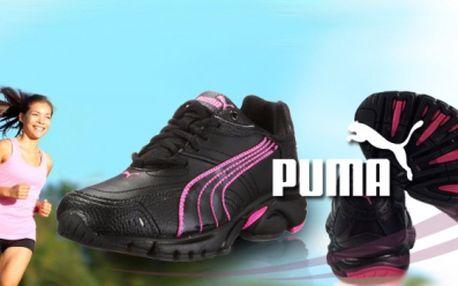 Dámská obuv Puma za skvělých 799 Kč! Vhodné jak pro běžné nošení, tak i pro sport a fitness aktivity! Elegantní černo-růžové provedení! Udělejte radost svým blízkým krásným vánočním dárkem! Možný osobní odběr v Praze!