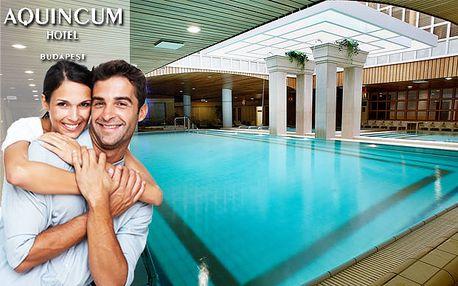 Aquincum hotel ***** je jediný hotel v Budapešti, v ktorom sa nachádzajú horúce pramene. Štyri dni luxusu, bazénov, víriviek, sáun a krásnej architektúry len za 229€ pre dve osoby.