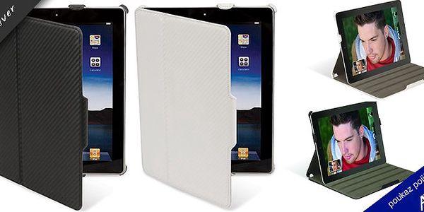 Karbonový obal pro iPad 2 ! P2 folio je pouzdro pro iPad 2 z uhlíkových vláken. Toto je dokonalý doplněk k vašemu zařízení, které poskytuje vynikající ochranu na přední a zadní části vašeho nového iPadu. Čtyři různé pozice včetně low-úhlu pro psaní vám umožní optimální možnosti pro sledování filmů, hraní her a správu e-mailů !