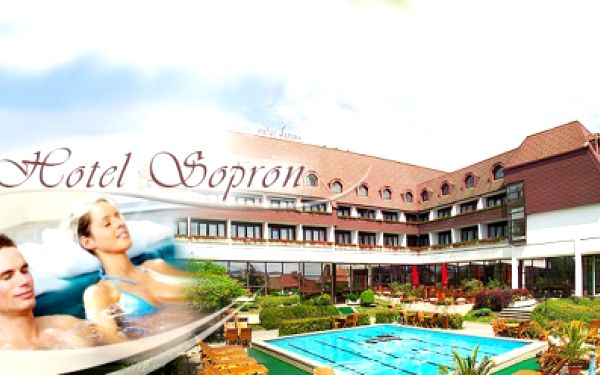 Relaxace, wellness i aktivní odpočinek v Šoproni - Maďarsko! 3 DNY v pohodlném dvoulůžkovém pokoji včetně bohaté POLOPENZE jen za 3 490 Kč! ZDARMA whirpool, finská sauna, infra sauna, fitness a v letních měsících venkovní bazén!