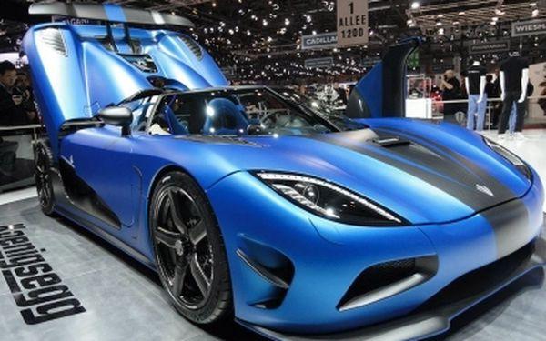 Ženevský autosalon - vánoční dárek pro všechny milovníky aut za 129 €!